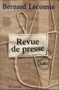 Revue de presse (roman)